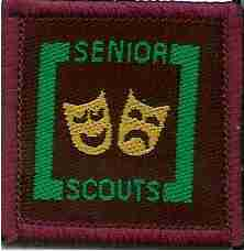 The Senior Scout Entertainer Badge